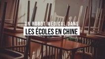 Un robot médical dans les écoles en Chine