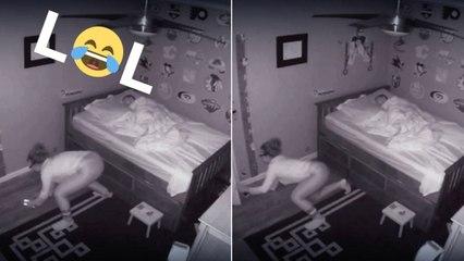 Moms Incredible Ninja Moves To Avoid Waking Preschooler
