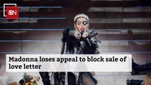 Madonna's Breakup Love Letter Is Still At Auction