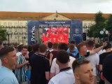 Dégradations des fans de foot anglais à Porto à l'occasion de la Ligue des nations