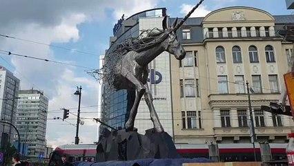 Jednorożec w Łodzi
