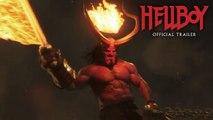 Hellboy (2019 Movie) New Trailer Green Band  David Harbour, Milla Jovovich, Ian McShane