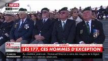 75 ans du débarquement : Emmanuel Macron rend hommage aux 177 hommes du commando Kieffer