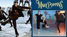 Choreographers Break Down a Mary Poppins Dance Scene
