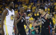 Raptors Defeat Shorthanded Warriors in NBA Finals Game 3