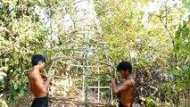 House Animal Nests Flower Grass _ Primitive technology , Building Skill