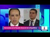 Renuncian dos funcionarios de la Fiscalía General de la República   Noticias con Yuriria Sierra