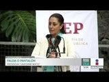 """¿Falda o pantalón? Presentan uniforme """"mixto"""" en la CDMX   Noticias con Francisco Zea"""