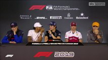 F1 2019 - Canadian GP Drivers' Press Conference