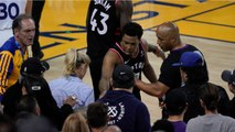 Part Owner Of Warriors Ejected For Pushing Kyle Lowry