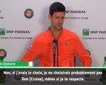 Roland-Garros - Djoko snobe Tom Cruise pour son biopic