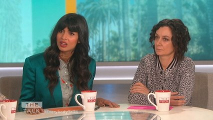 The Talk - Jameela Jamil Opens Up on Calling Out Photolift App; 'We deserve more'