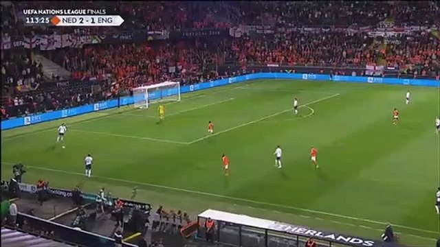 Netherlands [3]-1 England - Quincy Promes