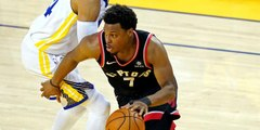 Tiki and Tierney: Warriors investor Mark Stevens banned one year for shoving Kyle Lowry