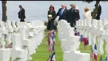 [ Kỷ niệm 75 năm Trận Normandie ( Trận chiến vì nước Pháp ) ngày 06/06/1944 ] Caen, tỉnh Calvados, Normandie, Pháp trưa ngày 06/06/2019: Tổng thống Mỹ Donald Trump v