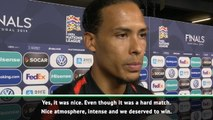 What can you do? - Van Dijk on being booed