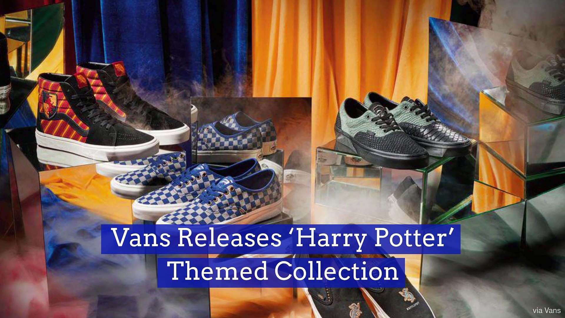 Vans Releases 'Harry Potter' Themed Collection