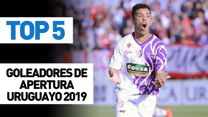 Top 5 | Goleadores Apertura Uruguayo 2019