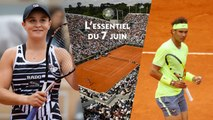 Roland-Garros 2019 - Nadal trop fort pour Federer, finale femmes inédite : l'essentiel du 7 juin