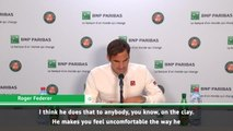 There's no one like Nadal on clay - Federer