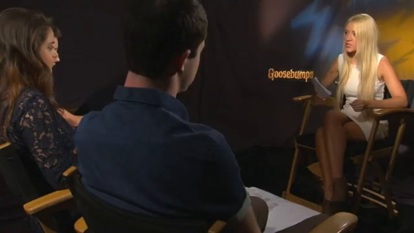 Jack Black and the Goosebumps Cast Play The Emoji Game