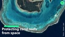Protegiendo los arrecifes de coral desde el espacio