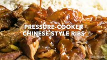 Pressure Cooker Chinese Style Ribs