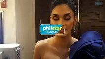 Pia Wurtzbach reacts to her Binibining Pilipinas 2019 lookalike candidate