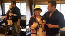 Salman Khan gives warm hug to his fan from China; Watch Video | FilmiBeat