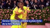 Serena Williams athlète 'self made women' la plus riche