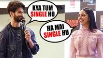 Shahid Kapoor FLIRTING With Kiara Advani At the Song Launch Of MERE SOHNEYA FROM