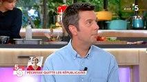 """Après une question, Bernard Guetta envoie valser Maxime Switek dans """"C à vous"""" - Regardez"""