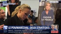 Entre Marine Le Pen et Marion Maréchal, quelle stratégie pour l'extrême droite ?