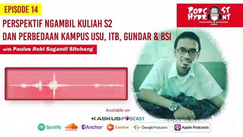 Podcast Hydrant Eps 14 Ngambil S2 Demi Karir, Emang Jamin Sukses?