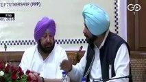 Sidhu Loses Key Portfolio In Punjab Cabinet Reshuffle