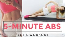 5-MINUTE ABS / HIIT x Pilates
