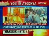 UP CM Yogi Adityanath to unveil 7 feet tall statue of Lord Ram in Ayodhya, Uddhav Thackeray follows