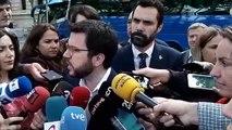 Pere Aragonès dóna suport a Josep Maria Jové