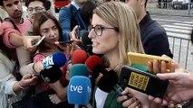 Elsa Artadi dóna suport a Josep Maria Jové