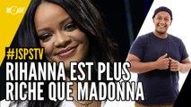 Je sais pas si t'as vu... Rihanna est plus riche que Madonna