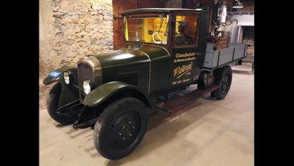 La Camionnette du galochier GIRARD  - La Restauration