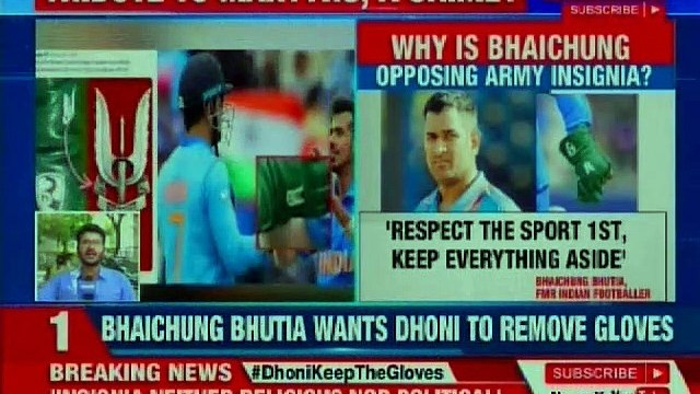 Nation supports MS Dhoni on controversy over Indian Army insignia on Glove in Cricket World Cup 2019
