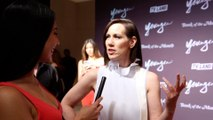 """Miriam Shor Interview """"Younger"""" Season 6 New York Premiere Red Carpet"""