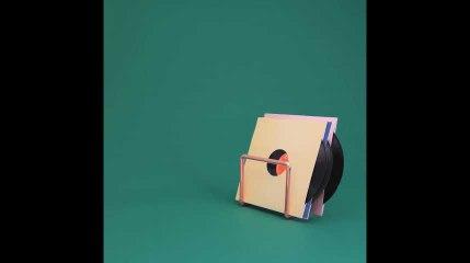 Tous makers : le porte vinyle