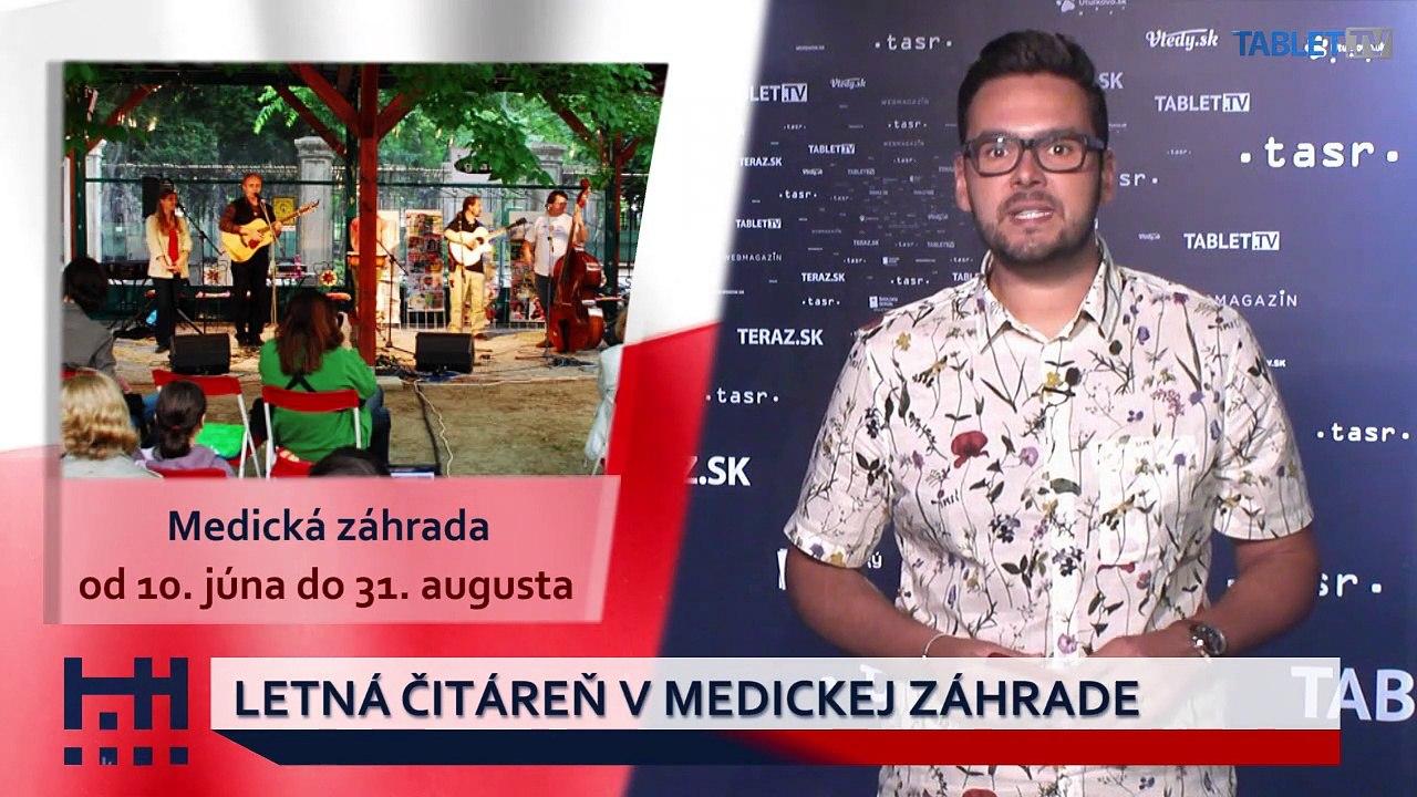 POĎ VON: Ibiza party 2019 a Letná čitáreň v Medickej záhrade