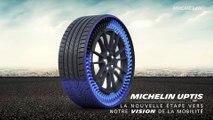Automobile : ... et Michelin créa le pneu sans air (airless)