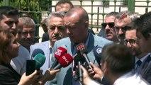 Cumhurbaşkanı Erdoğan:'Bölgenin bir defa çıkacak olan tüm petrol noktasında olabilir, başka olabilir bunun hepsinden Güney Kıbrıs'ın nasıl hakkı varsa Kuzey Kıbrıs'taki Türk soydaşlarımızın hakkı var. Bu hakkı