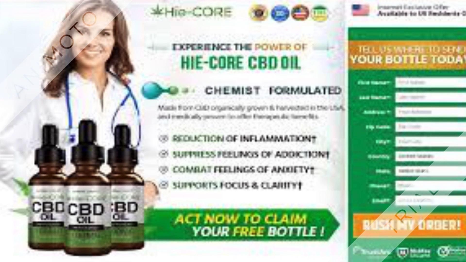 Hie Core Hemp Oil
