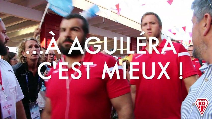 A la TV c'est bien, à Aguiléra c'est mieux !