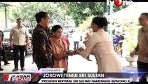 Jokowi Silaturahmi ke Sultan Hamengkubuwono X